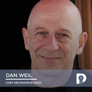 Dan Weil, Chef décorateur