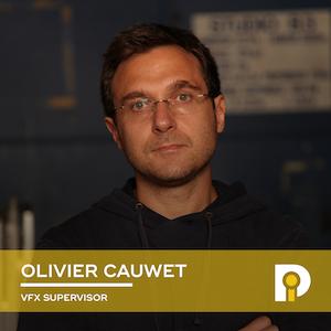 Olivier Cauwet, Superviseur VFX chez BUF
