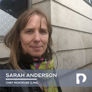 Sarah Anderson, Cheffe Monteuse